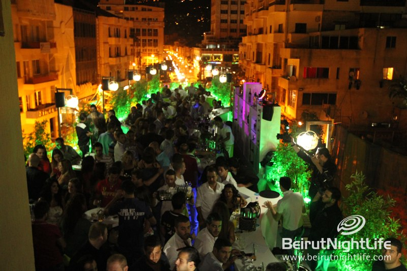 LED: A Novel Rooftop Opens in Jounieh