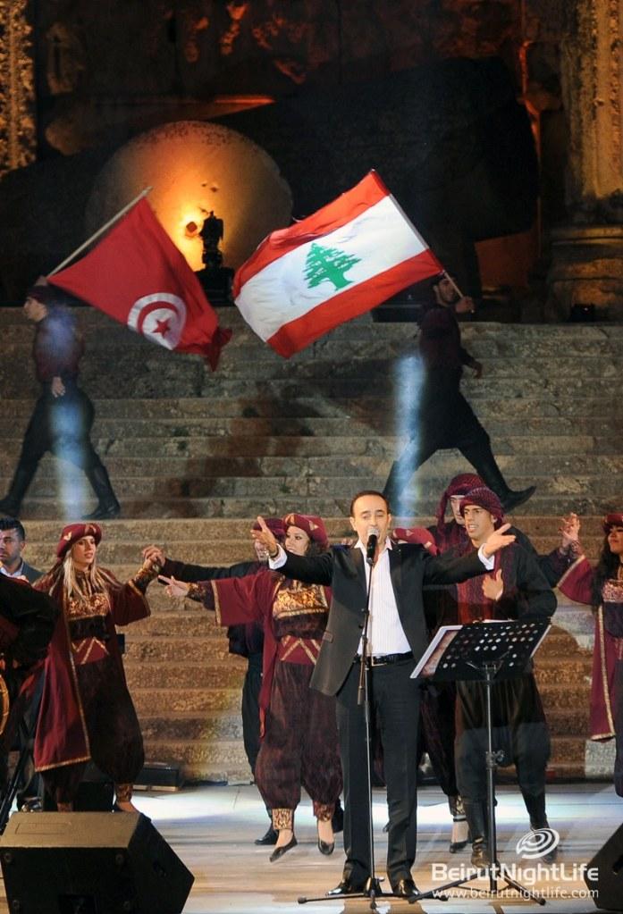 Saber Rebaï: A Tunisian Breeze at Baalbeck International Festival