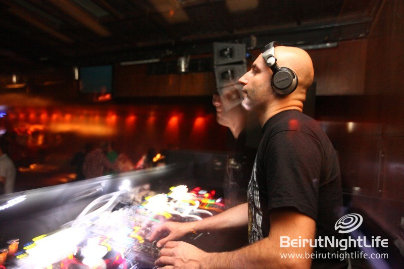 Fady Ferraye Shows Up for Another Hurly Burly Night at B018