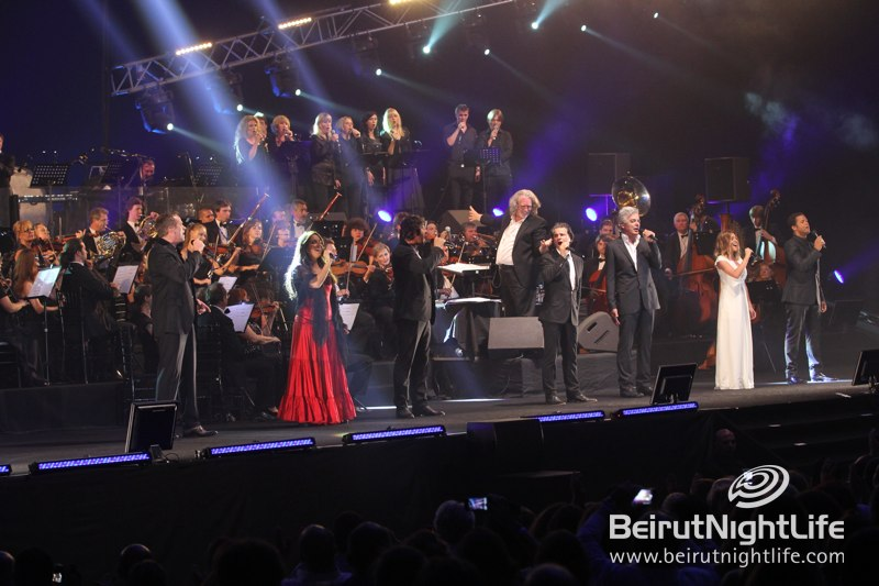 Les Plus Belles Chansons de Notre Dame de Paris put on a Beautiful Show at Biel