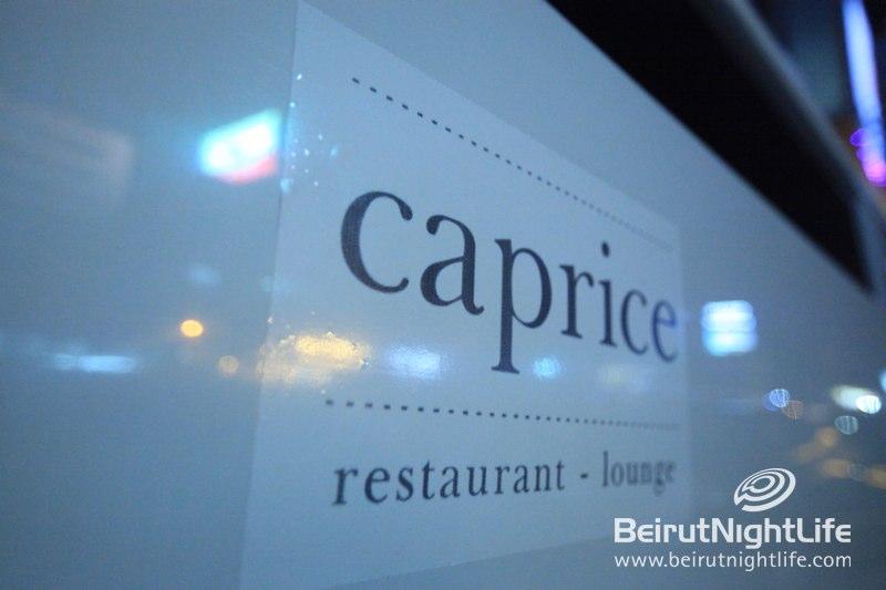 Caprice Restaurant Lounge: Another Landmark on the Lebanese Coast