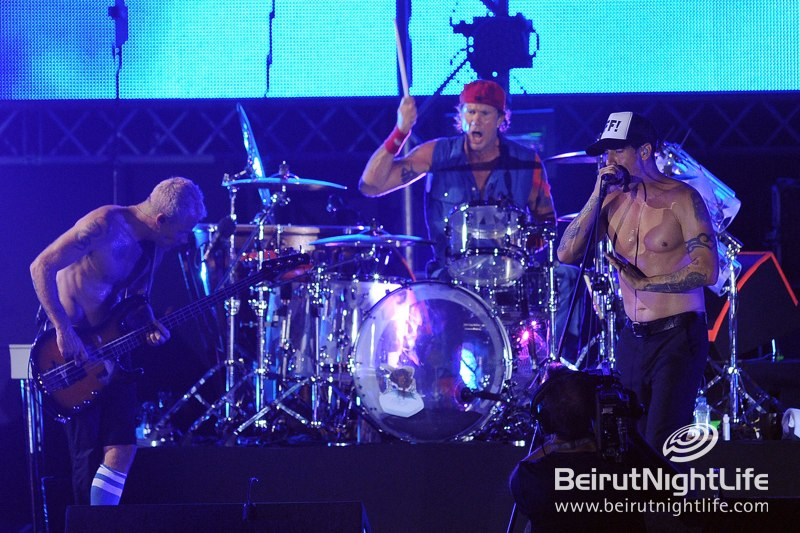 Red Hot Night in Beirut with Red Hot Chili Peppers