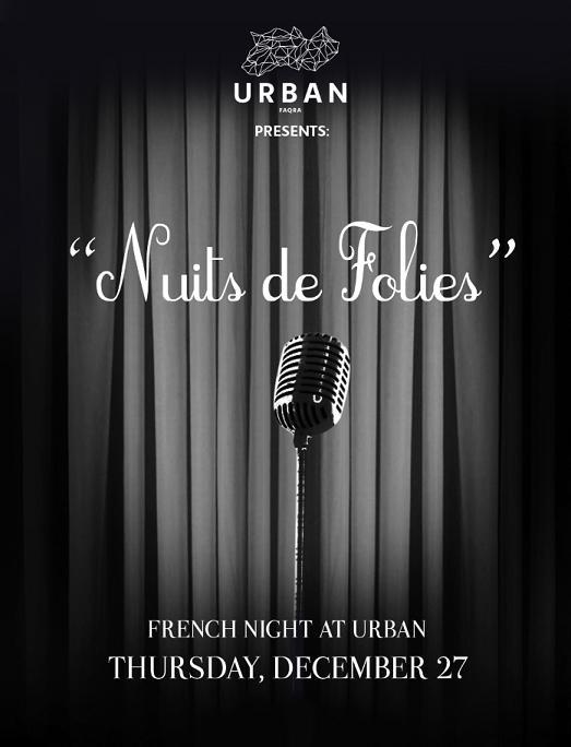 Nuits De Folies At Urban