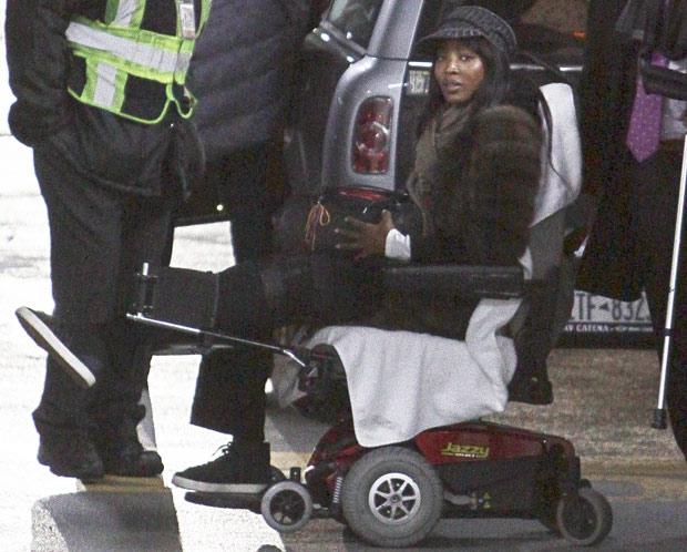 Naomi Campbell injured in 'violent attack' in Paris