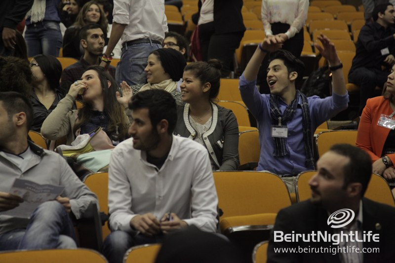 Excitement at the Lebanon Youth to Business Forum
