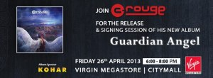 C-rouge Launching 3rd Album at Virgin Citymall