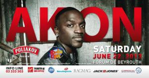 Holding Our Breath for AKON Live in Beirut on June 22!
