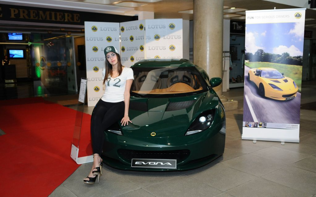 """Lotus Cars Lebanon celebrates a successful first anniversary with """"A night out at the movies"""""""