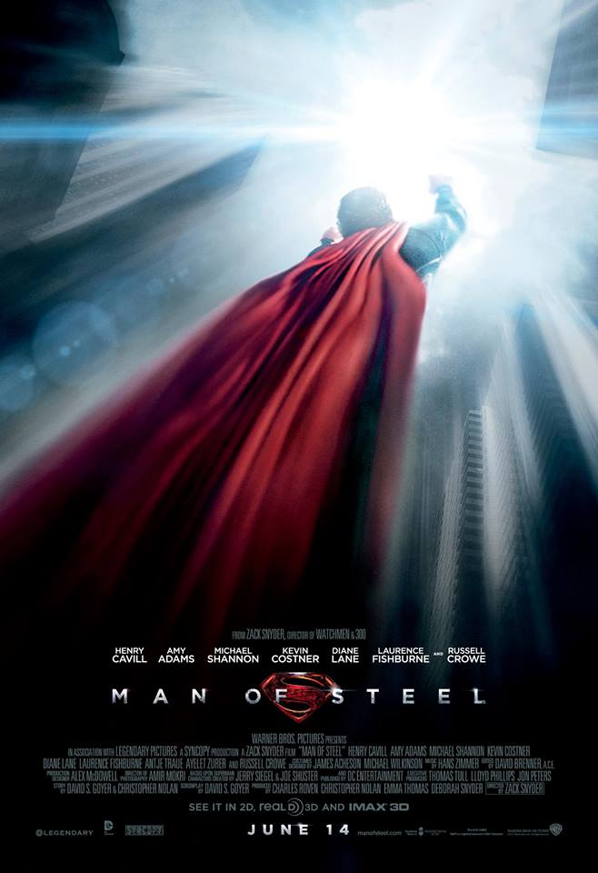 "Win your free ticket to ""Man of Steel"""