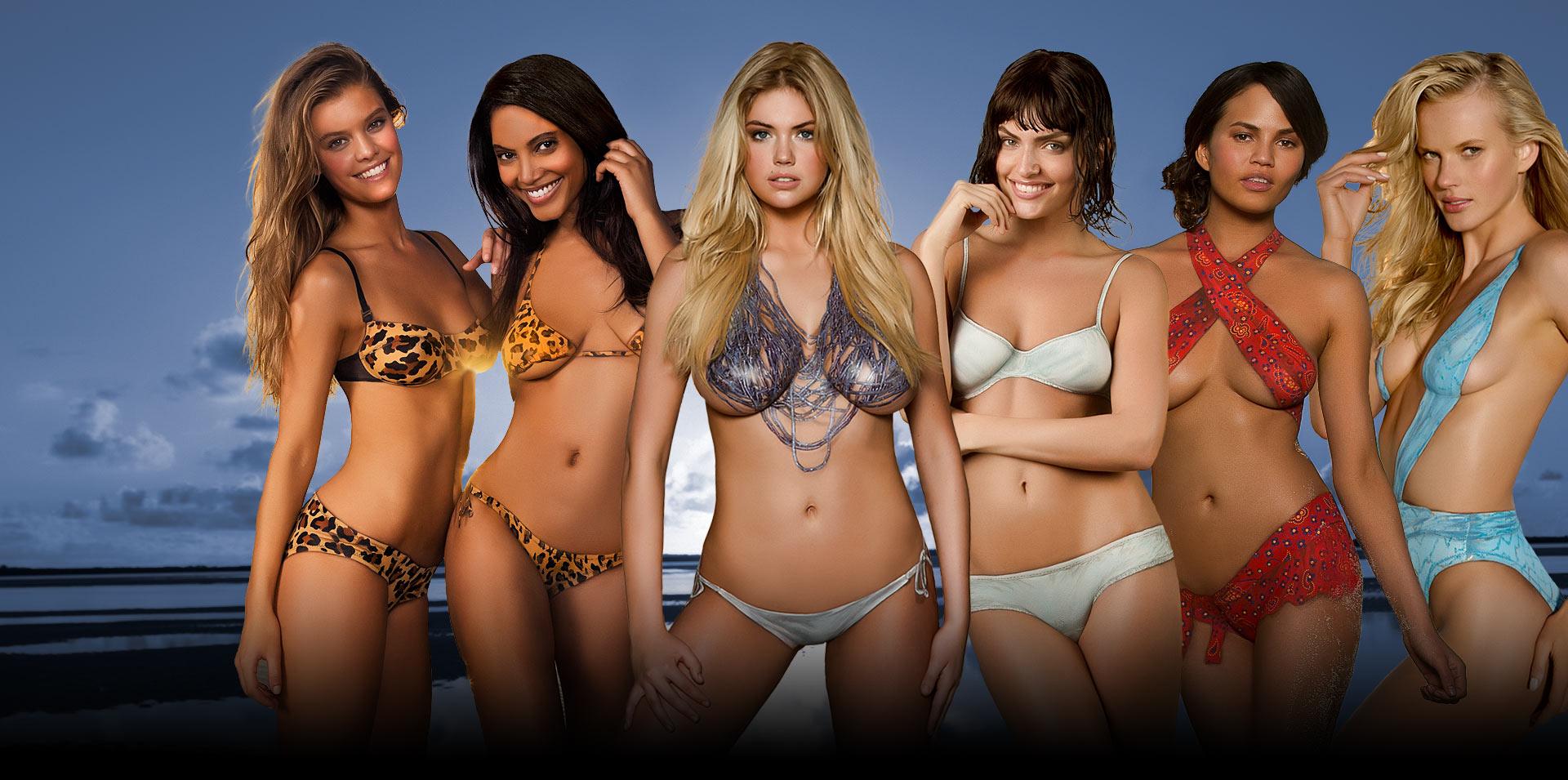 Soll Deutsch Si sexiest bikini model pics slut! Shame