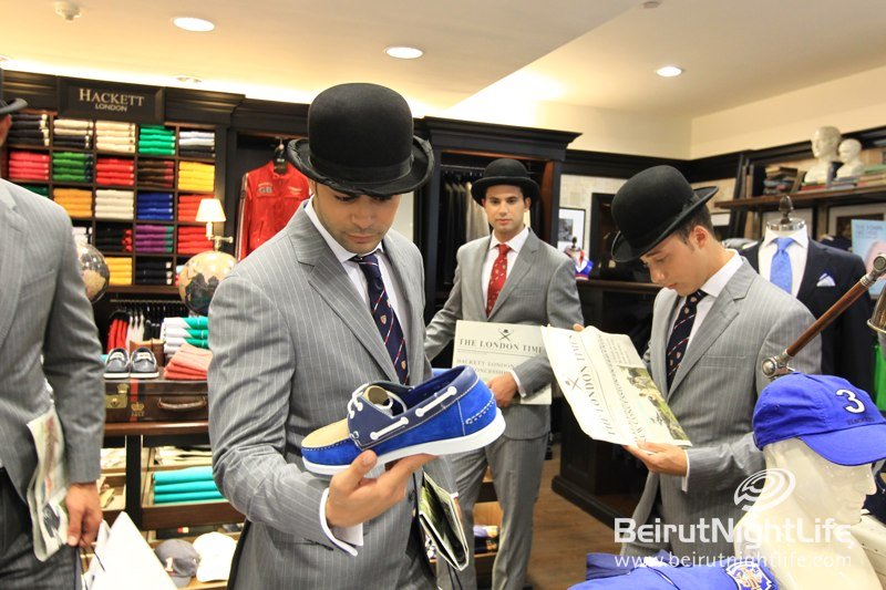 Hackett Gents Descends on ABC Dbayeh