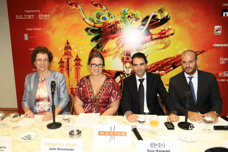 "Cirque Du Soleil Announces ""Dralion"" Show in Beirut in October"