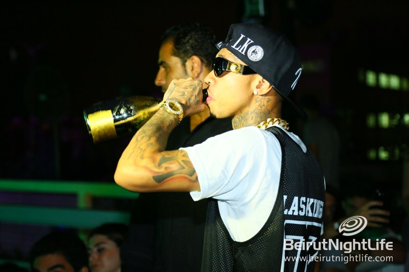 Tyga at the Afterparty at White Beirut
