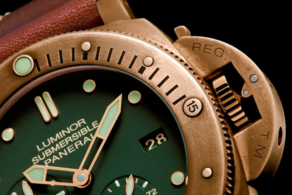 Luminor Submersible 1950 3 days power reserve automatic bronzo- 47 mm