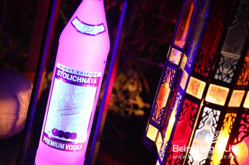 Stolichnaya Launches Glow-in-the-Dark Night Edition Bottle at Momo's