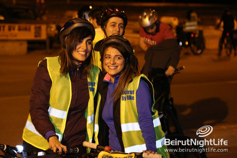 Beirut by Bike's Charity Night Ride on Friday