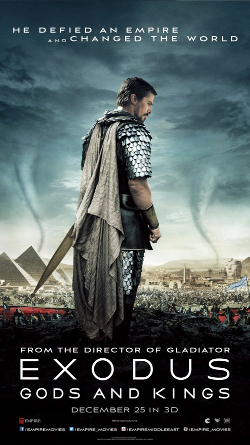 """Win Free Tickets for """"Exodus – Gods and Kings"""" at VOX Cinemas"""