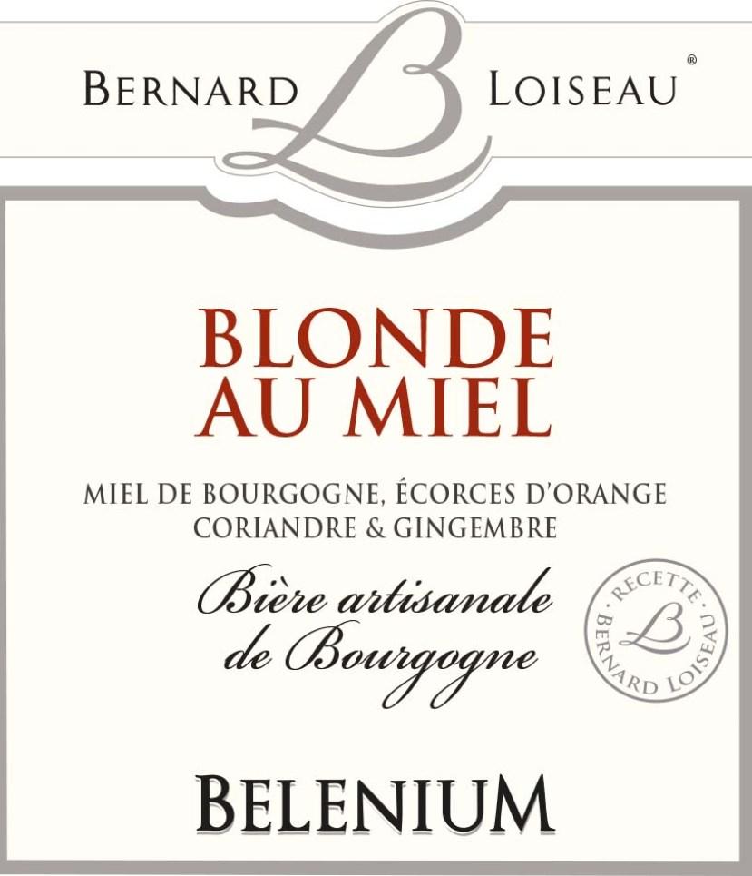 Bière blonde au miel Bernard Loiseau - Bourgogne