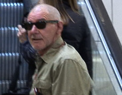 Harrison Ford Goes Bald for Film Role