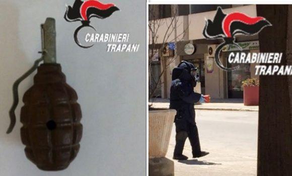 Allarme bomba a Marsala, intervengono i carabinieri – LE FOTO