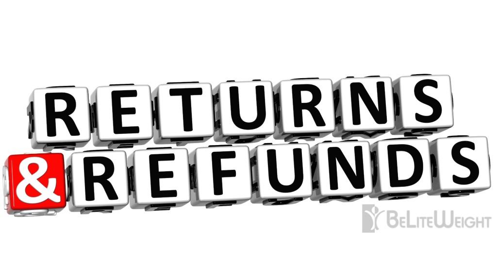 Cancellation / Refund Policy Beliteweight