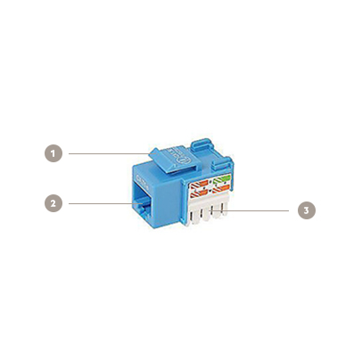 Belkin CAT5e Modular Keystone Jack (Pack of 25)