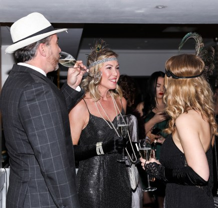 foto: tema zabave je bila Great Gatsby
