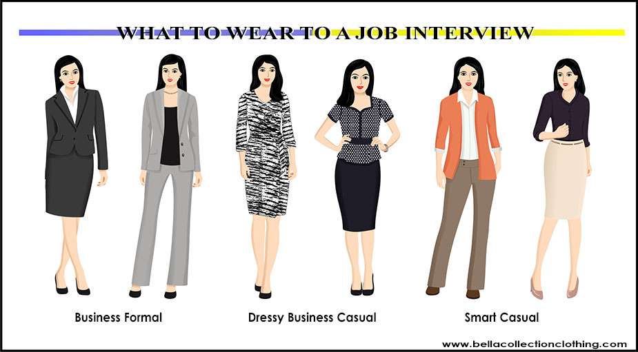 What to Wear to a Job Interview - Bella Collection