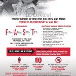 FREE Pediatric Stroke Infographic Printable PDF