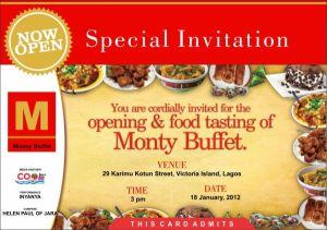 Sample Of Invitation Restaurant