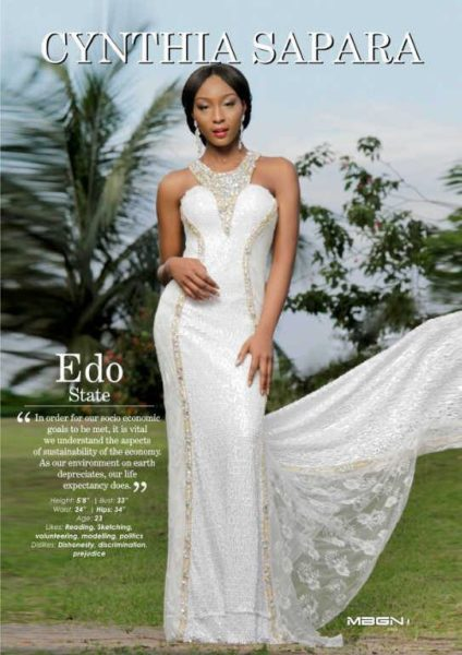Runner Up Miss Edo