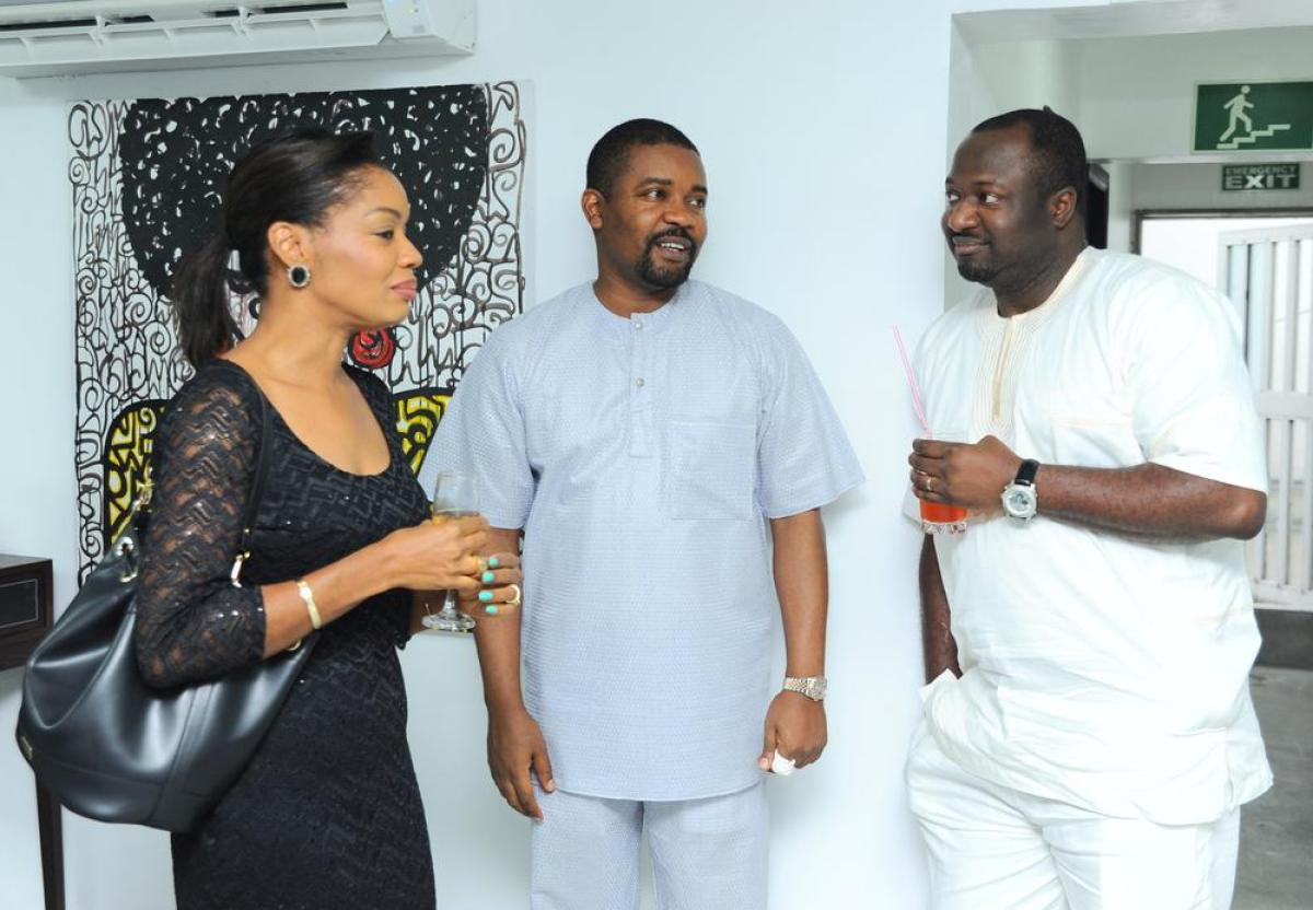 Tolu Elegbe, Roy Oshinbolu and Omololu Elegbe