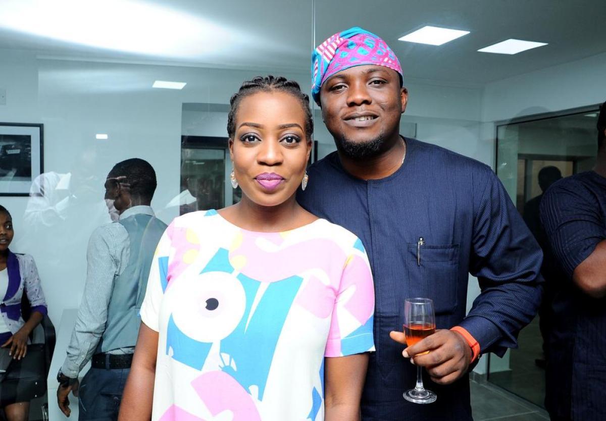 Ayotunde Adegbola and Jide Salami