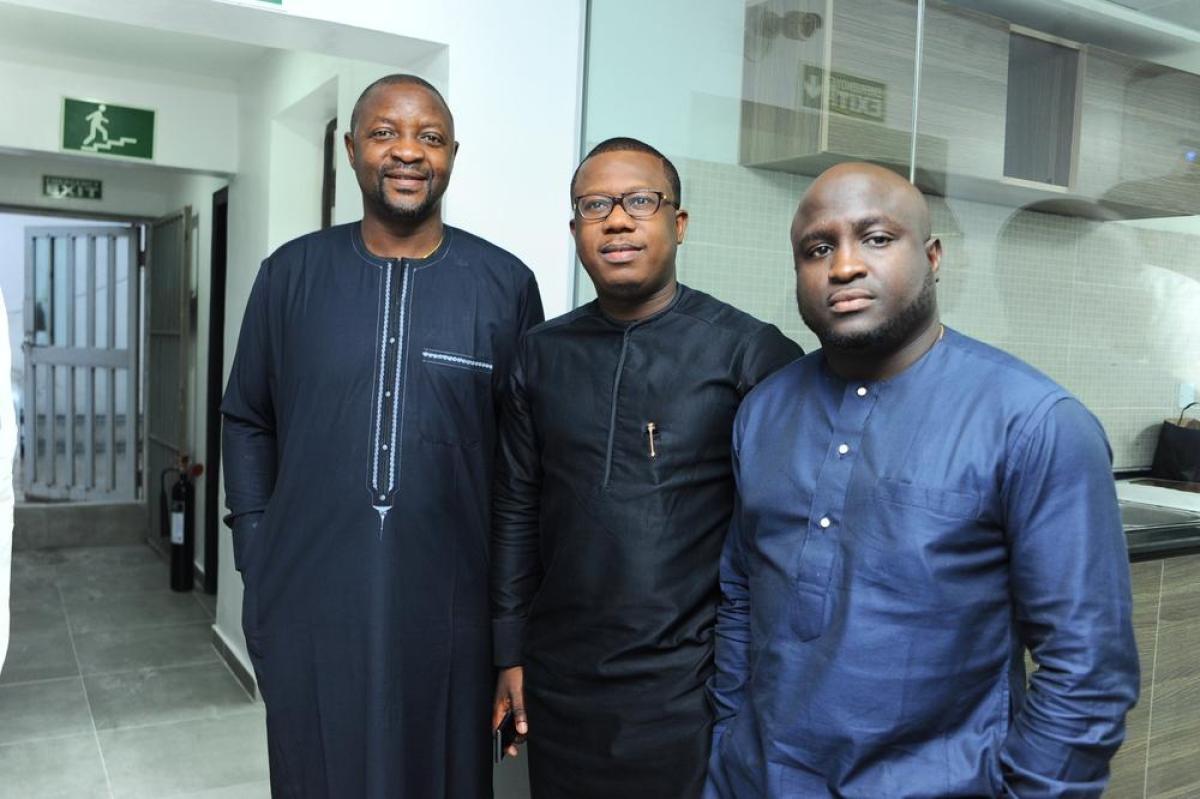 Sunday Dare, Folajimi Lai-Mohammed and Dele Akintola