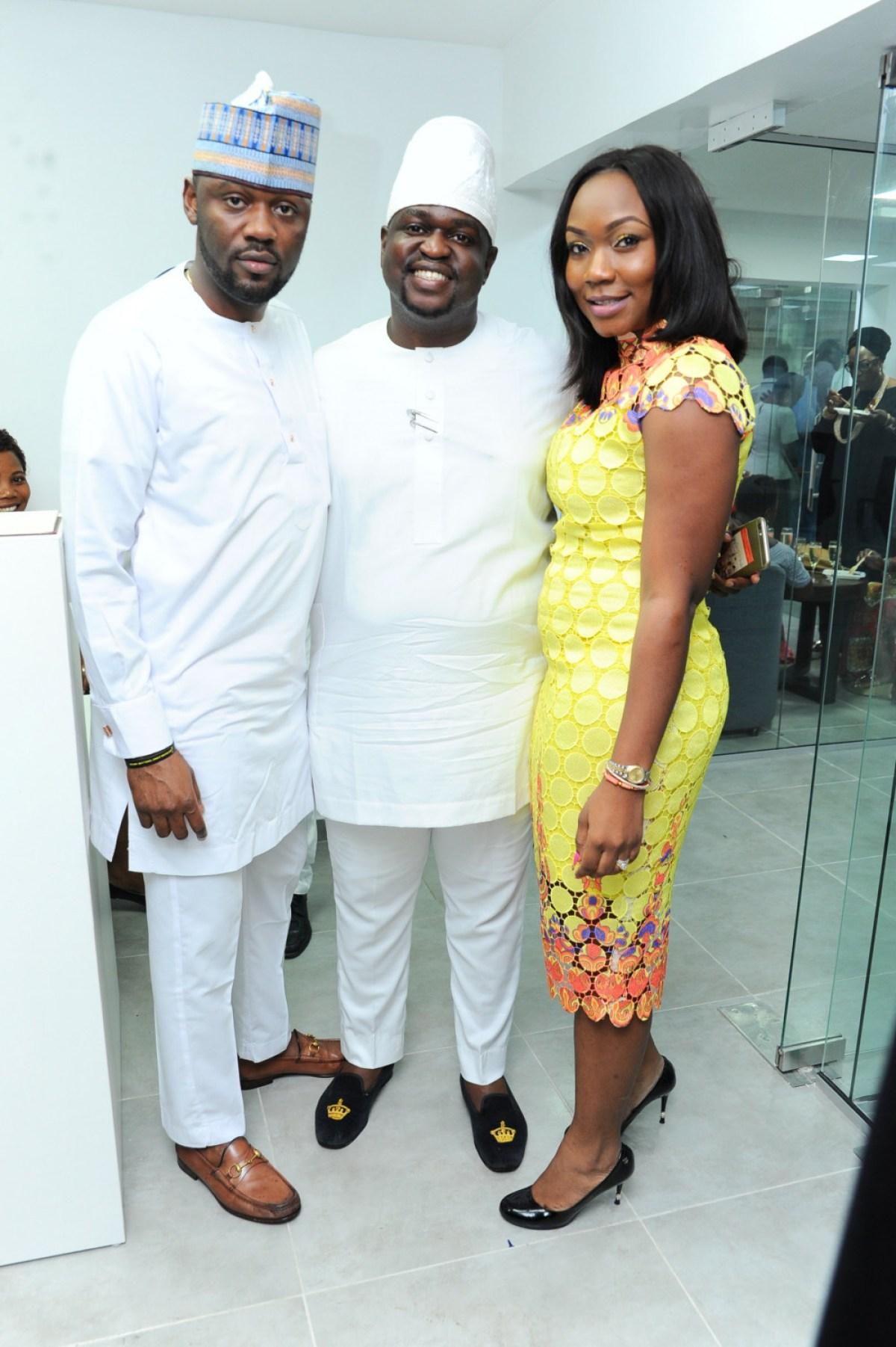 Ayokunle Ilesanmi, Kayode Adegbola and Seni Ilesanmi