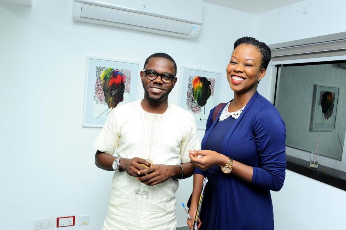 Bisi Ogunwale and Doyin Olaniyan