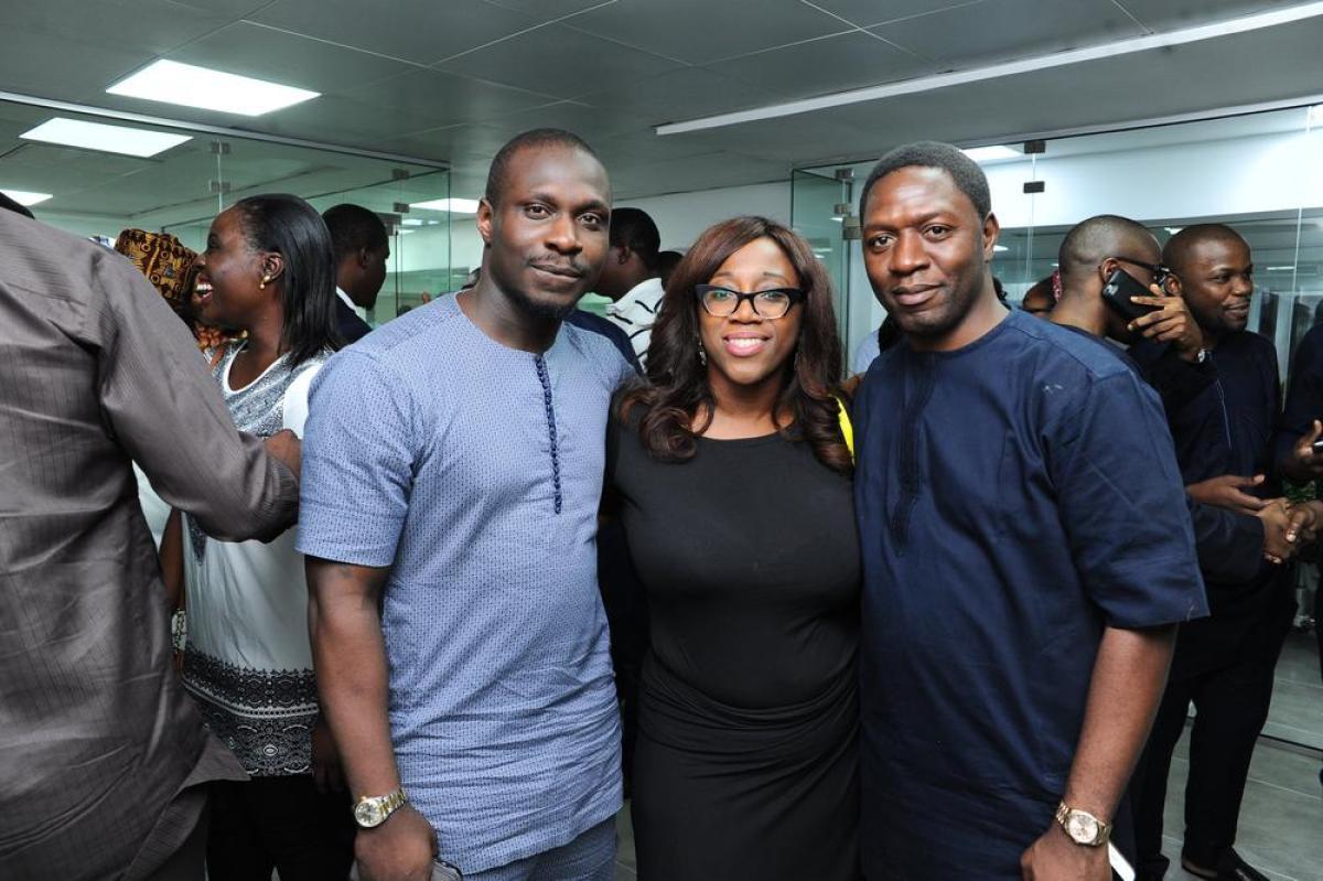 Dayo Kale, Tolagbe Martins and Toro Akanni-Aluko