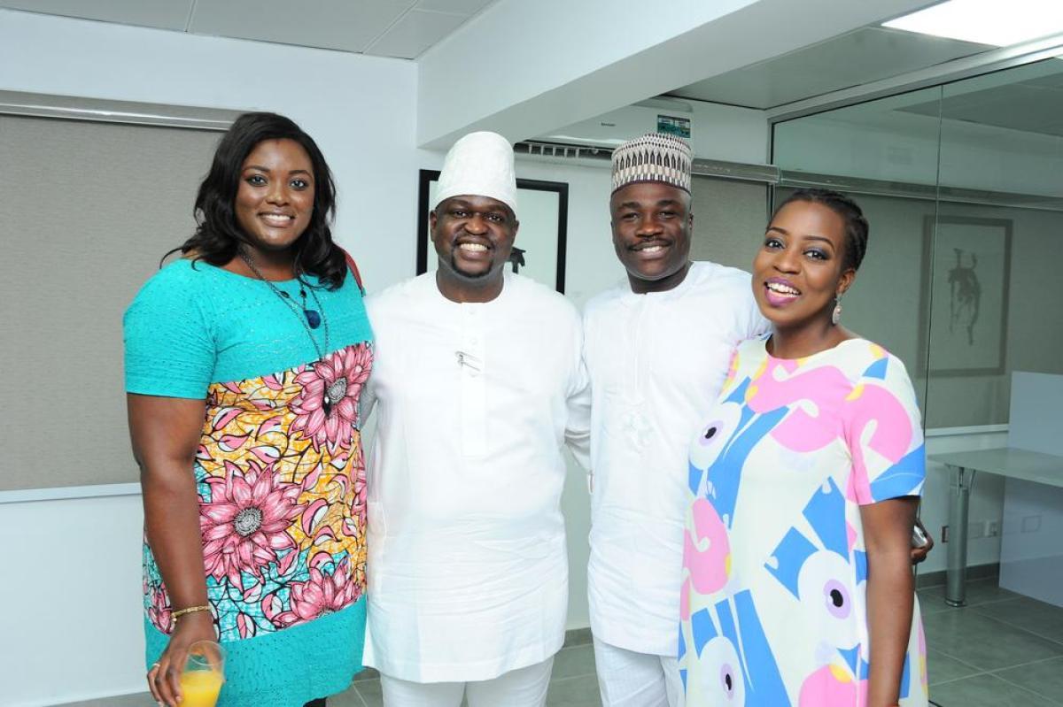 Kayode & Ayotunde Adegbola, Yeside & Olumide Agbola