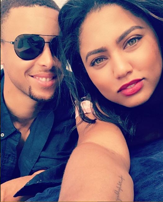 stephen curry and ayesha curry instagram 2016 profile pics