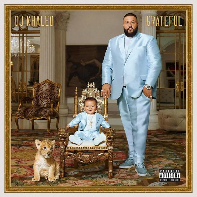 "BellaNaija - DJ Khaled & Asahd serve up Serious Father/Son Goals on the ""Grateful"" Album Physical Cover"