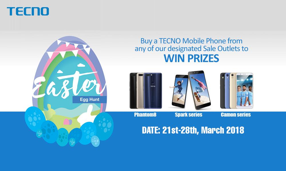 Lots of Customers winning Instant gifts as TECNO Easter Promo Ends - microsoft word easter egg