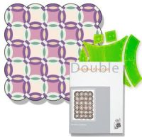Double Wedding Ring Template Set VT1015 | Bellarine Sewing ...