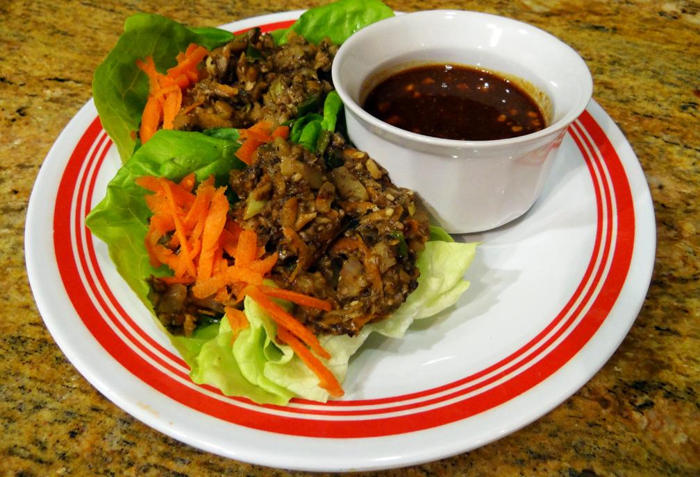 Vegetarian Asian Lettuce Wraps - Gluten Free - Bella Vita FitnessBella ...