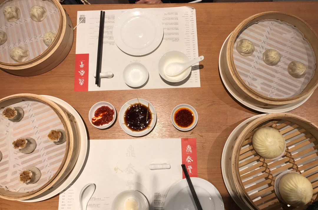 The most delicious dim sum at Din Tai Fung in Shanghai. This Michelin-starred restaurant is relaxed and inexpensive, but delicious.