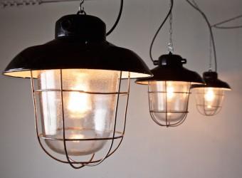 industrial deck lamp