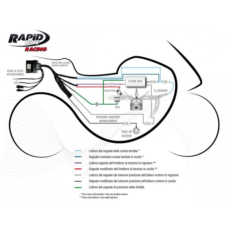 RapidBike RACING Self Adaptive Fueling Control Module for the