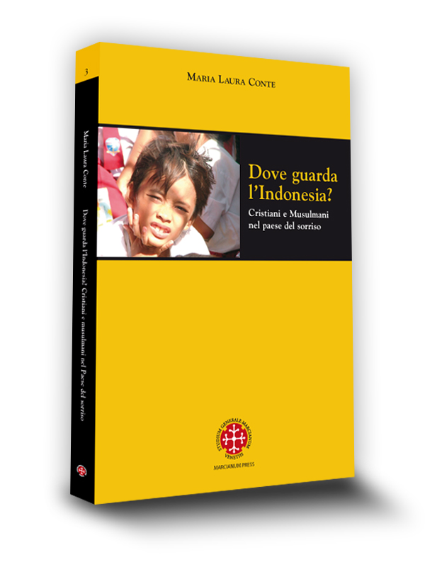 Cover book | Dove guarda l'Indonesia | Maria Laura Conte | Marcianum Press