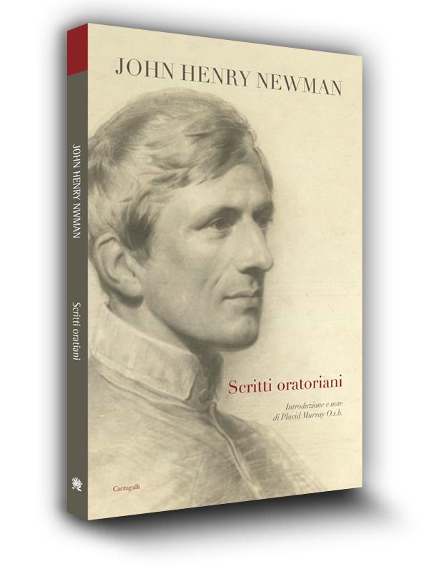 Cover book | Scritti oratoriani | John Henry Newman | Edizioni Cantagalli | Siena
