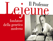 Cover book | Il Professor Lejeune | Jean-Marie Le Méné