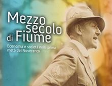 Cover book | Mezzo secolo di Fiume | Giuseppe Parlato